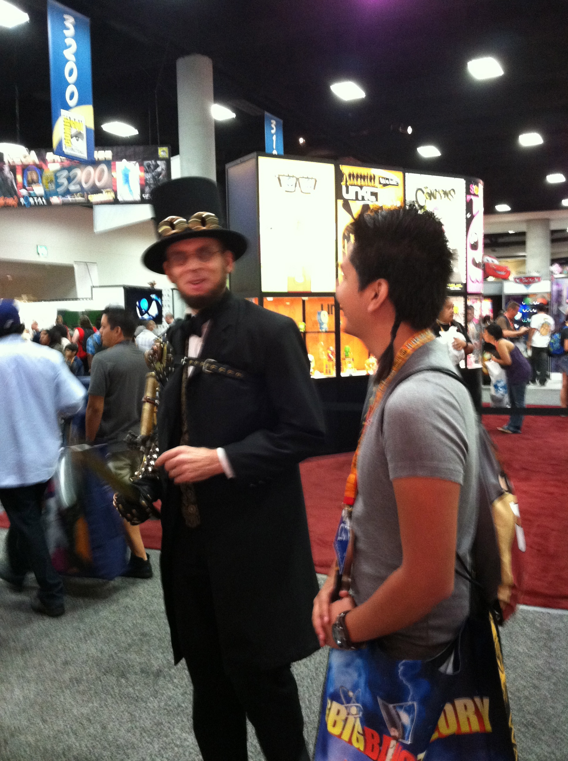 Top Ten Bookish Encounters at Comic-Con