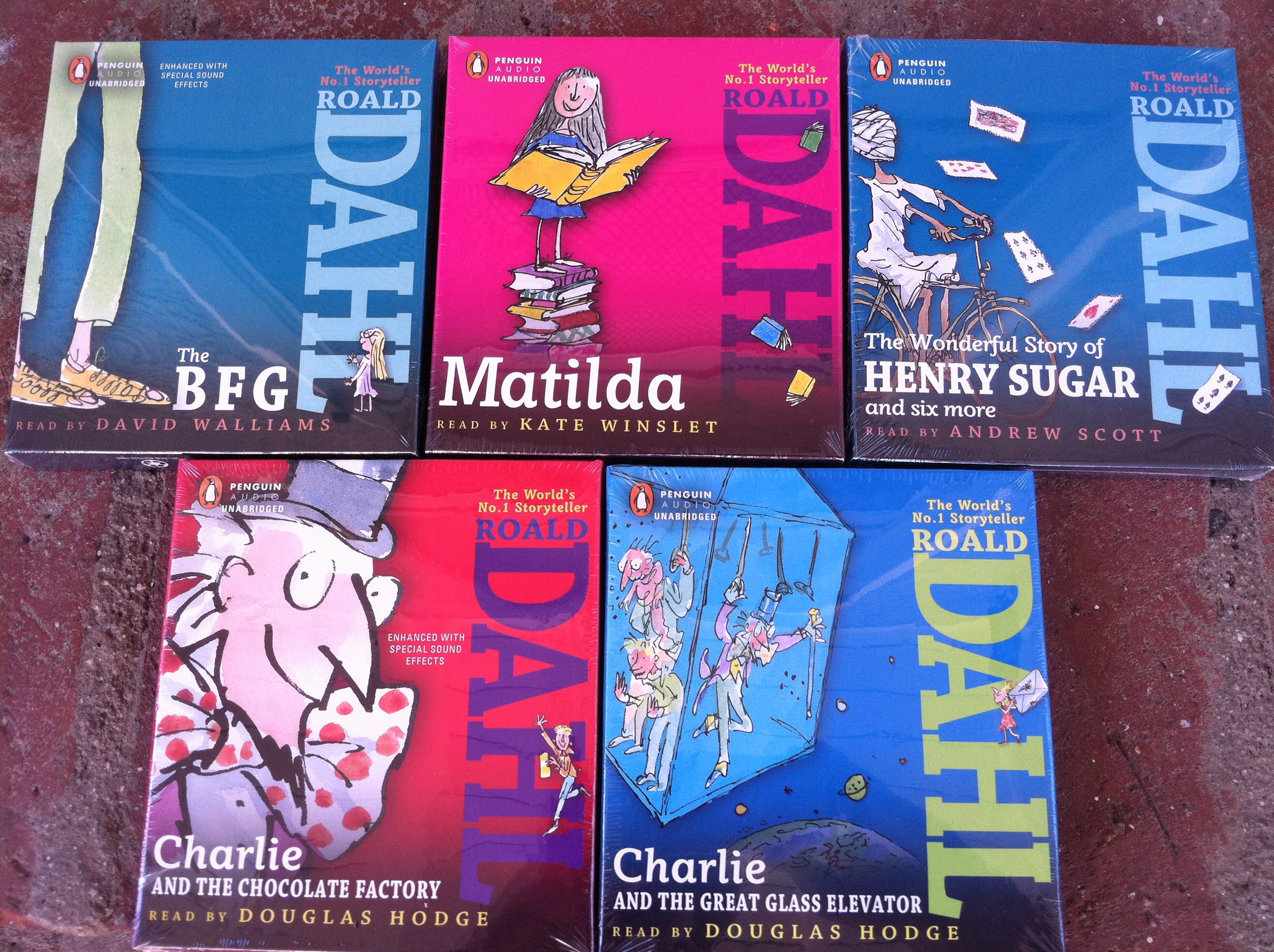 Roald Dahl Month Audiobook Giveaway