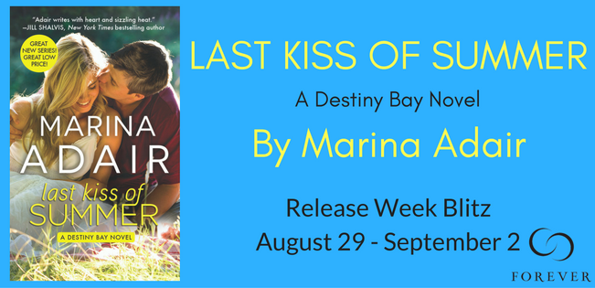 Last Kiss of Summer - Top 5 Foodie Fiction and Giveaway!